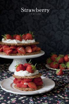 Celebrating British food and culture: Strawberry Spelt Shortcake, the history of Shortcake in Britain
