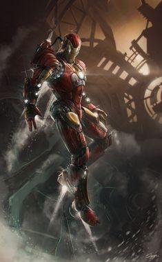 Ironman C14 Digital Art Books & Novels Cartoons & Comics Character Fan Art Iron Man Movies & TV Superhero