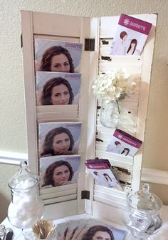 How I display my catalogues :) Ashley Dawson-Independent Jamberry Consultant