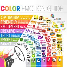 brand color emotion guide infographic - What Your Brand's Colors Say About Your Business [Infographic] http://www.dbsquaredinc.com/brand-color-theory324 ‪#‎marketing‬ ‪#‎branding‬