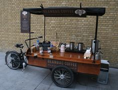 coffee cafe coffeecup morning yummy delicious dinner tasty lunch eat Thanks to Mobile Coffee Cart, Mobile Food Cart, Mobile Coffee Shop, Bike Food, Car Food, Food Vans, Food Cart Business, Coffee Business, Food Cart Design
