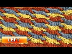 Meladoras Creations  |  Single Weave and Link Stitch – Free Crochet Pattern