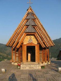 St.Sava Church, Drvengrad, Serbia