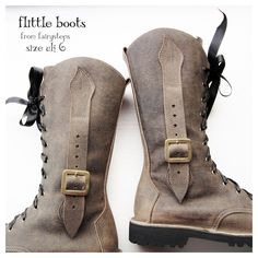 Image of UK 6, Flittle Boots 2789