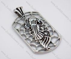 Stainless Steel Pendant -JP010035  Item No. : JP010035 Market Price : US$ 25.90 Sales Price : US$ 2.59 Category : Biker Pendants