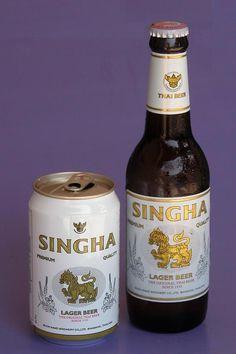 Singha beer from Thailand - info about Thailand and Koh Samui: http://islandinfokohsamui.com/