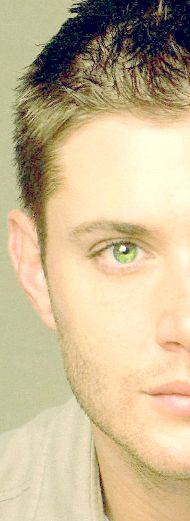 hello beautiful green eyes, now if i could change his face to my husbands ... but keep the eyes! <3