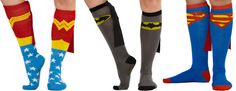 Superhero socks *with capes.* I cannot even.