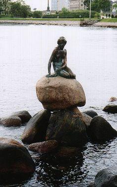 Hans Christian Anderson's Little Mermaid, Copenhagen, Denmark