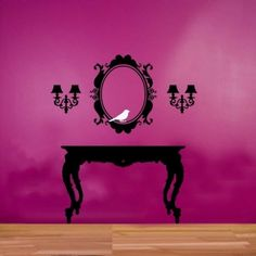 ShaNickers Wall DecalBaroque Modern Frame by ShaNickersWallDecals, $39.00