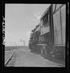 kiowa kansas  photos | Kiowa, Kansas. Train waiting for a block signal along the Atchison ...