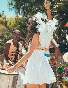 Fantasia anjo #carnaval #adorofarm