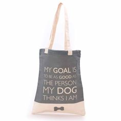 Shopping Bag | My Dog | 40x34cm by Must Love Dogs on POP.COM.AU