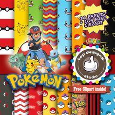 : Venta Pokemon Digital POKEMON DIGITAL de por Topdesignsstudio