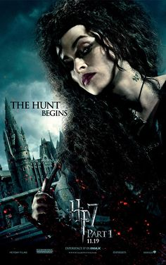 I wish I could be Bellatrix.