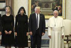 The Pope has met Donald Trump