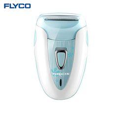 Flyco máquina de Afeitar Dispositivo de Eliminación de Pelo Profesional Recargable Dama de la Moda Femenina de las mujeres Raspando Depiladora Eléctrica de Afeitar FS7208