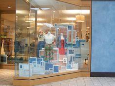 May/June Window 2 #anthropologie #visual #merchandising #display
