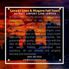 Detroit Airport, Toronto Airport, Buffalo Airport, Airport Limo Service, Airport Transportation, Detroit Area, Windsor, Books Online