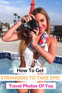 Must know tips to help you get strangers to take amazing photos of you while on vacation. #vacationphotos #travel #travelphotos