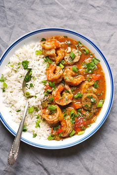 New Orleans with Shrimp and Sausage - my take on Gumbo! This recipe makes even the roux from scratch and is absolutely perfect to let simmer for Sunday supper! Cajun Recipes, Sausage Recipes, Seafood Recipes, Dinner Recipes, Cooking Recipes, Healthy Recipes, Haitian Recipes, Louisiana Recipes, Donut Recipes