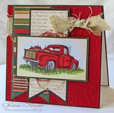 Scraps of Life: Another Father's Day Card...and Another Old Truck!