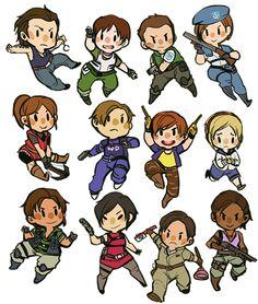 Resident Evil Fan Art Tumblr