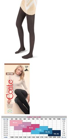 68dbf7f0b Pantyhose and Tights 11525  Conte Women S Organic Cotton Tights - 150 Denier  -  BUY IT NOW ONLY   16.95 on  eBay  pantyhose  tights  conte  women   organic ...
