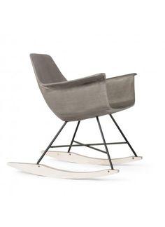 Moderner Schaukelstuhl moderner schaukelstuhl im skandinavischen look sitzmöglichkeiten
