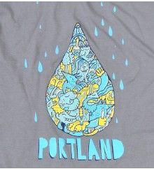 Men's Portland Raindrops