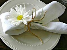 Napkin folding - 26