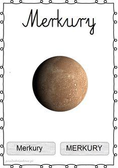 UKŁAD SŁONECZNY – plansze zestaw 1 – Przedszkolankowo Sistema Solar, Kids Homework, Space Activities, Kids Poster, Solar System, Kids Learning, Education, Maps, Astronomy