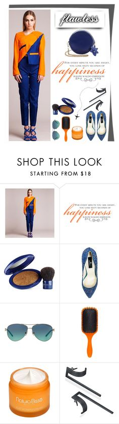 """""""@silver_noize_by_rekusss and @dorryhsu are the hot new labels on AtMayfair! Grab your dose of them right now #ShopAtMayfair"""" by atmayfair ❤ liked on Polyvore featuring Elizabeth Arden, Tiffany & Co., Denman and Natura Bissé"""