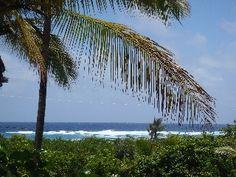 Ocean Tropical Views, Private Hot Tub, Bikes, Snorkel, Wifi! Vacation Rental in Kapoho
