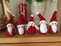 Weihnachtswichtel gefilzt