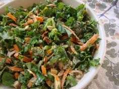 Vegan Immune-Boosting Salad with Baked Tempeh