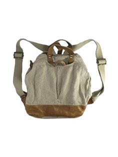 49 Square Miles - Canvas Backpack Flax