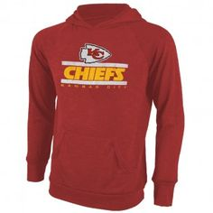 Kansas City Chiefs NFL Stance Hacci Hooded T-Shirt (Red) Kansas City Chiefs Apparel, Hoodies, Sweatshirts, Sport Outfits, Nfl, Long Sleeve, Sports, Mens Tops, T Shirt