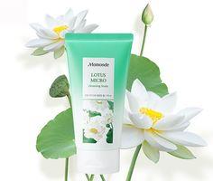Amore Pacific MAMONDE Lotus Micro Cleansing Foam 175ml, Brightening Cleanser #Mamonde