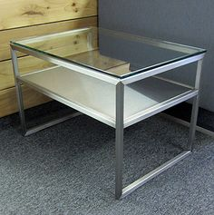 Shelf End Table