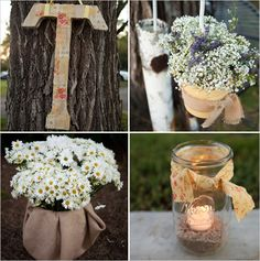 diy wedding ideas mom there is some cute ideas on here Katie might like. :)