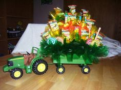 Tractor Candy Bouquet
