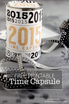 Картинки по запросу time capsule printable