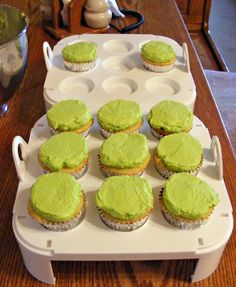 Mt Dew Cupcakes, for the kid