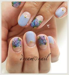 Nail Art, Nails, Beauty, Flower, Finger Nails, Ongles, Cosmetology, Nail Arts, Nail Art Designs