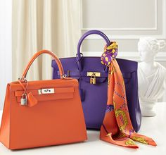 Hermes Kelly & Birkin. My dream handbags. I would take either one in any color (if I could ever afford one)