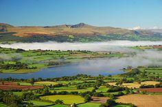 Llangorse Lake, Wales - have a caravan here blimmin lovely