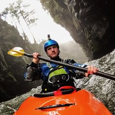 """White water kayaking with paddle sports editor, @d_spiegel @blistergearreview""  via actioncam on Instagram"