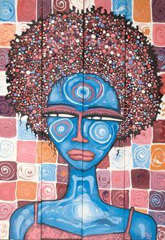 Blue Mood, Artwork, Blue, Work Of Art