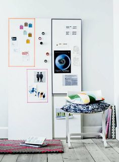 Large tall mood board